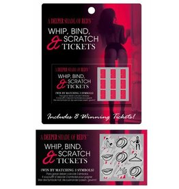 Whip Bind and Scratch Tickets