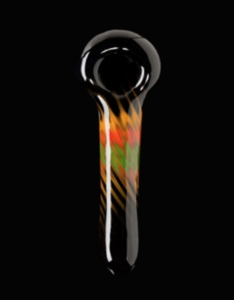 Chameleon Glass Chameleon Hand Pipe - Irie Phone Call in the Garage