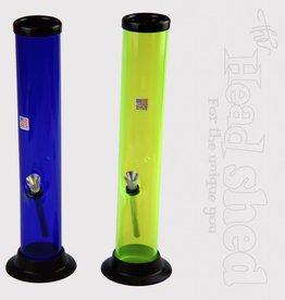 "JM Plastics - Classic Straight 2""x12"" - Acrylic Water Pipe"