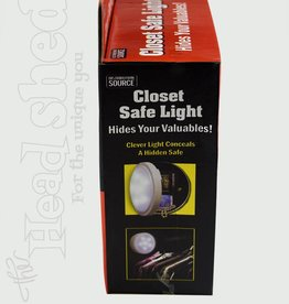 Closet Safe Light Diversion Safe