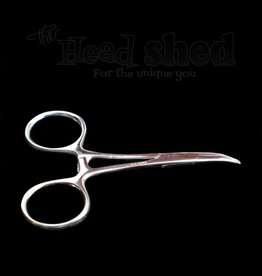 "Hemostats- 3.5"" Silver Curved"
