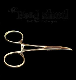 "Hemostats- 3.5"" Gold Curved"