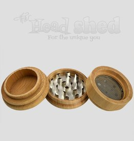 Lucky Sales -  Grinder - 4pc Wood 66mm