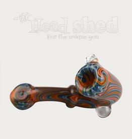 Ohio Valley Glass Ohio Valley Glass Sherlock - Fume Wigwag Sherlock