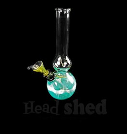 """Assorted Color Base Waterpipe w/Pull Slide - 6"""""""