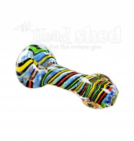 """Rasta Lines w/ Square Mouth Pipe - 3"""" (6662)"""