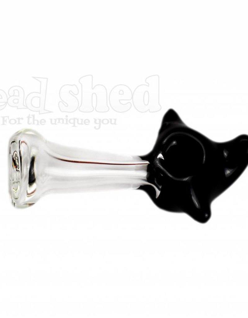 "Black Headed Pipe w/ Horns - 4"" (5436)"