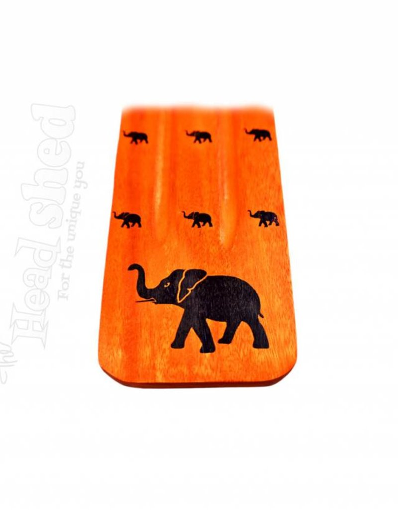 Asst. Colors Elephant Incense Burner