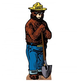 Card Board Cutout Smokey The Bear
