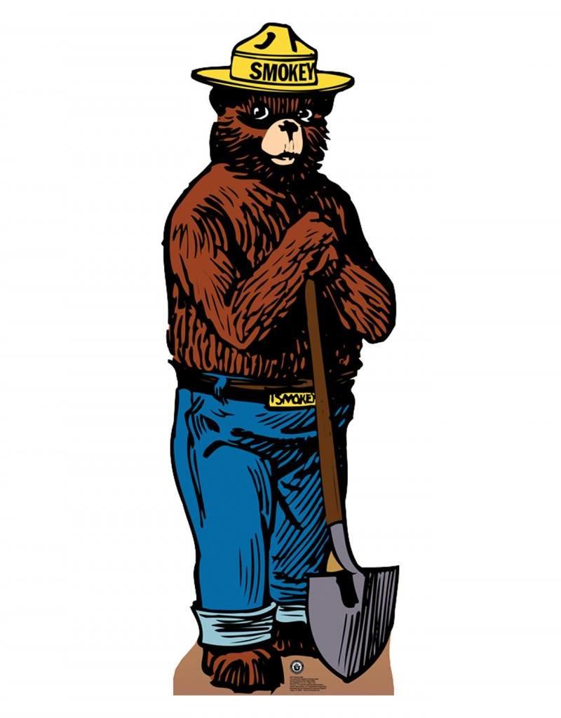 Card Board Cutout Smokey The Bear