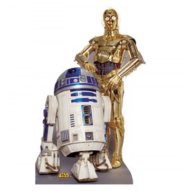 Card Board Cutout R2-D2 & C3- PO