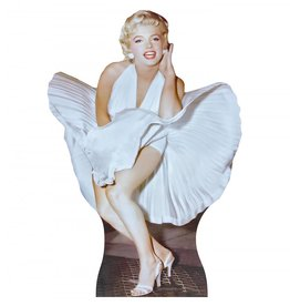 Card Board Cutout Marilyn Monroe The Seven Year Itch