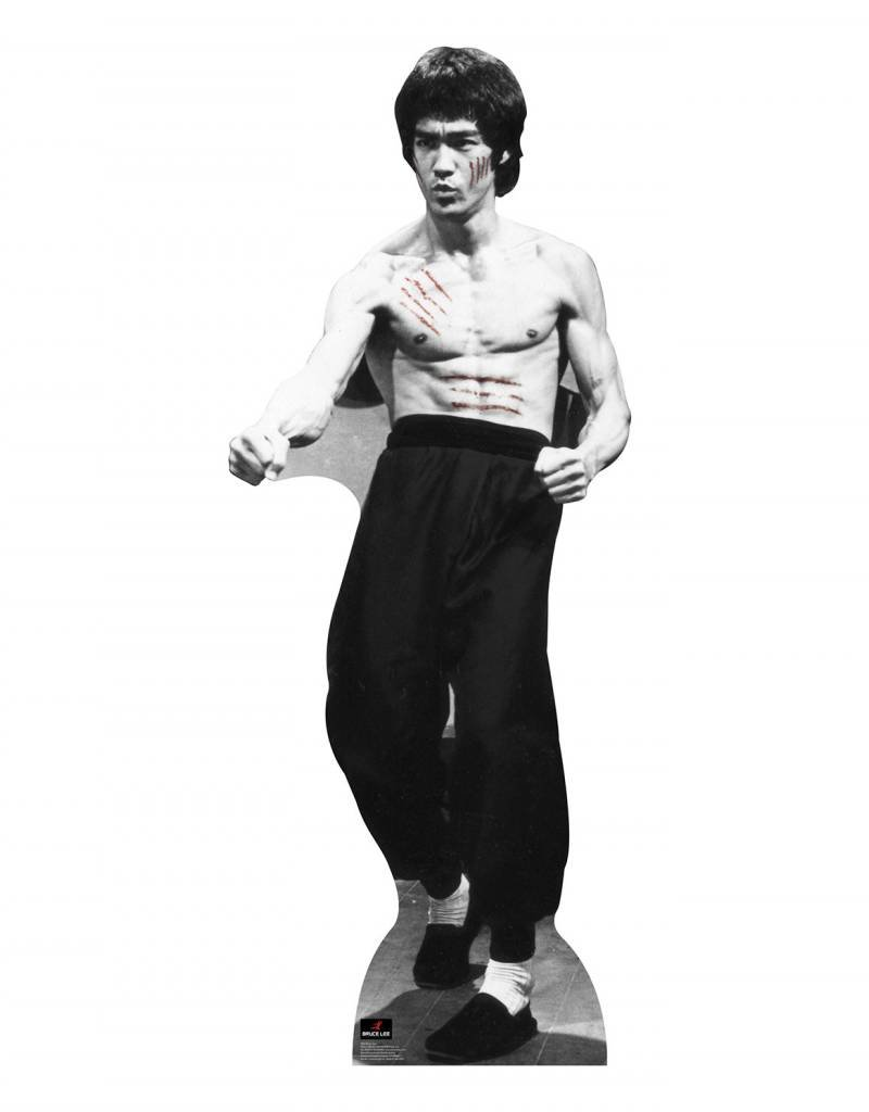 Card Board Cutout Bruce Lee