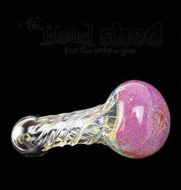 "Twisted Pipe Frit Head - Assorted 4""  (5435)"