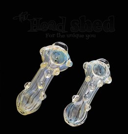 Fumed Pipe w/ Marbles (6589)