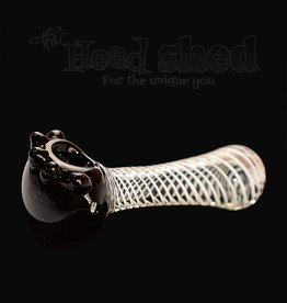Black Head Pipe w/ Lines - JQ128 (6600)