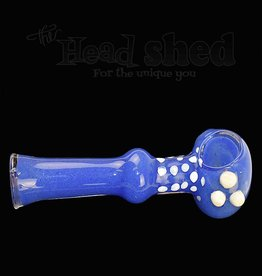"""Dot Necked Pipe w/ Marbles - 4"""" (6677)"""