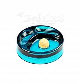 "E.W. Promotion - Glass 6.75"" Pipe Ashtray - Blue"