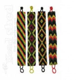 Thick Rasta Seed Bracelet