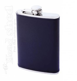 Maxam 8oz Flask w/ Leather Wrap