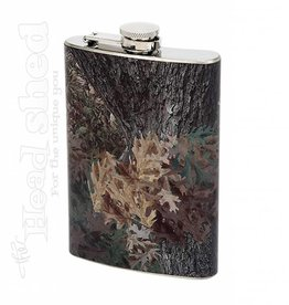 Maxam 8oz S.S. Flask - Camo Wrap
