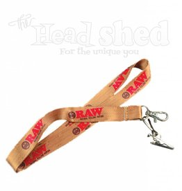 Raw Raw Lanyard w/ Clip