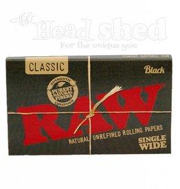 Raw Raw Black Single Wide