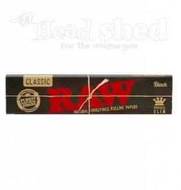 Raw Raw Black King Size Slim