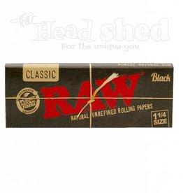 Raw Raw Black Natural Unrefined 1 1/4