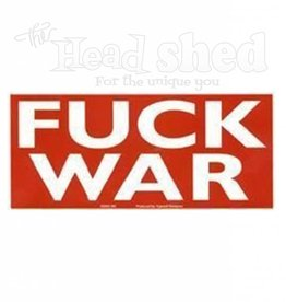Yujean - Fuck War Sticker