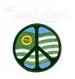 Yujean -  Ecology Flag Peace Sign Patch