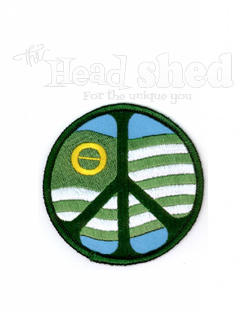 Yujean ecology flag peace sign embroidered patch cybershed yujean ecology flag peace sign embroidered patch cybershed cybershed biocorpaavc