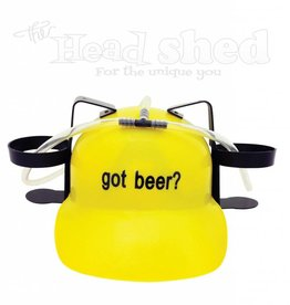 Drinking Helmet - Got Beer?