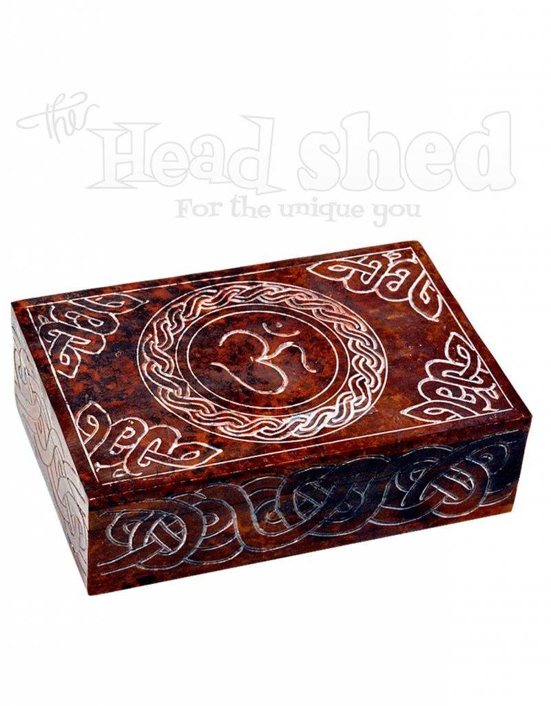 """6"""" x 4"""" Red Om Box"""