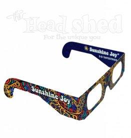 Sunshine Joy - 3D Paper Glasses