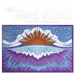 "Sunshine Joy - 3D Tapestry (60X90"") - Sunset Wave"