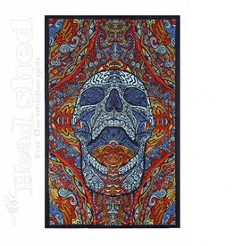 "Sunshine Joy - 3D Tapestry (60X90"") - Mindful Skull"