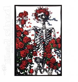"Sunshine Joy - 3D Tapestry (60X90"") - GD Skeleton Roses"
