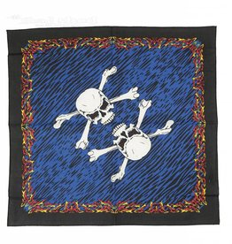 Bandana 3D Fire And Bones