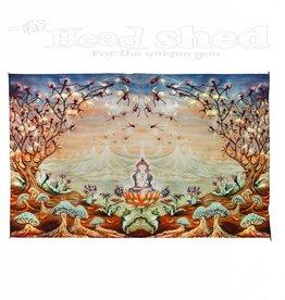 """Sunshine Joy - Digital Tapestry (85X53"""") -  MD Enlightenment"""