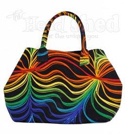 Sunshine Joy - Rainbow Ripple Tote Bag #1