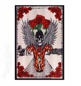 Sunshine Joy - Tapestry (90X60) - 3D Fire Biker