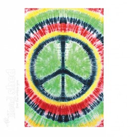 Sunshine Joy - Tapestry (90X60) - Rasta Tie-Dye Peace