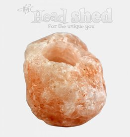 Himalayan Salt Candle Holder - Natural Shape Tealight