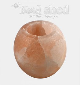 Himalayan Salt Candle Holder - Tealight Smoothed
