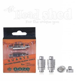 Ooze Ooze Splash Guard Quartz Coils 3Pk