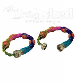 Multicolor Beaded Bracelet Pipe