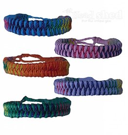 Fishtail Braided Cord Bracelets - Multi-Color