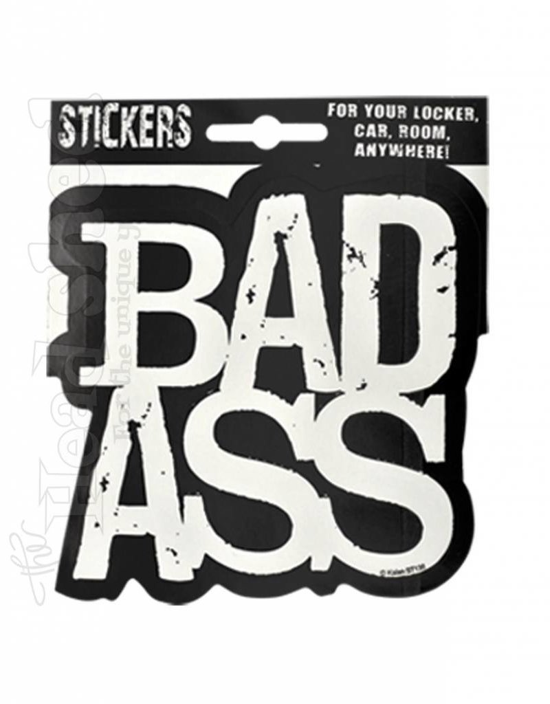 Badass Sticker