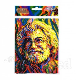Psychedelic Jerry Garcia Sticker